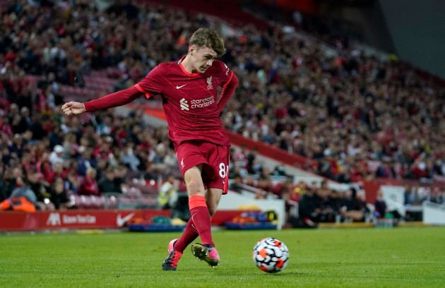 liverpools-conor-bradley-during-the-pre-season-friendly-match-at-anfield-liverpool-picture-date-monday-august-9-2021