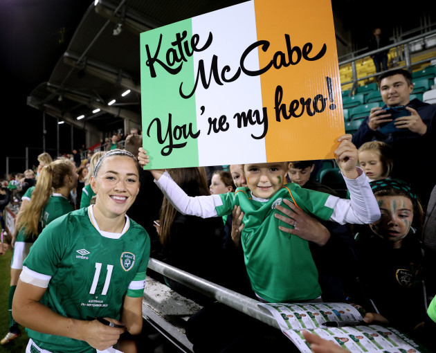 katie-mccabe-meets-a-fan-after-the-game