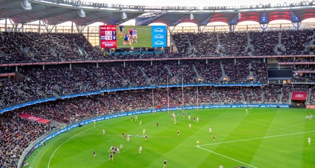 2021-afl-preliminary-final-aussie-rules-football-game-between-melbourne-and-geelong-football-clubs-at-optus-stadium-perth-western-australia
