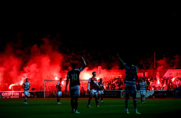 patso-fans-set-off-flares