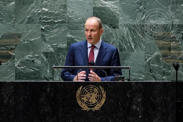 prime-minister-of-ireland-addresses-general-assembly-debate