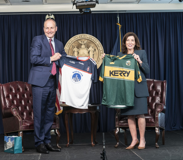 governor-hochul-meets-with-taoiseach-micheal-martin-of-ireland