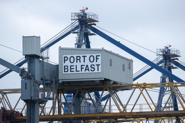 file-photo-dated-111120-of-a-port-of-belfast-sign-at-belfast-harbour-the-eu-will-later-outline-a-range-of-proposals-aimed-at-resolving-the-political-stand-off-over-brexits-northern-ireland-protoco