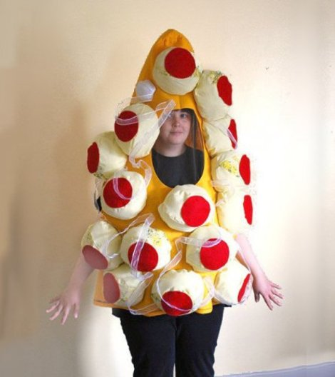 Hamburger Halloween Costume