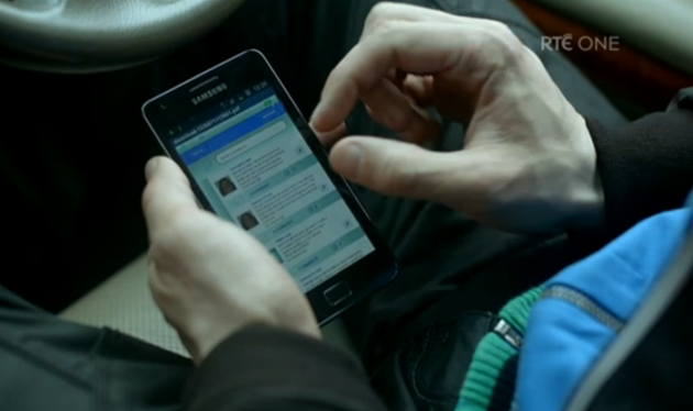 Last night's Love/Hate: Sexting, mammies and topless tapping