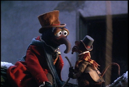 1 gonzo as charles dickens and his sidekick rizzo the rat - Muppets Christmas Carol Youtube