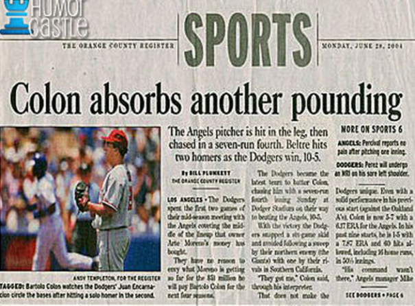 here are the 18 funniest sporting headlines ever  u00b7 the42