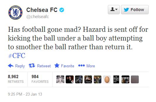 VIDEO: Did Eden Hazard kick a ball boy in the ribs? · The42