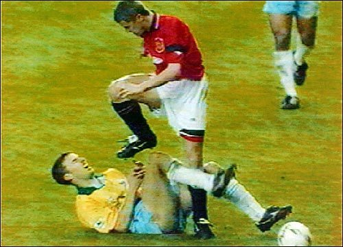 Thats The Worst Tackle Ive Seen Since Roy Keane Tried To Castrate