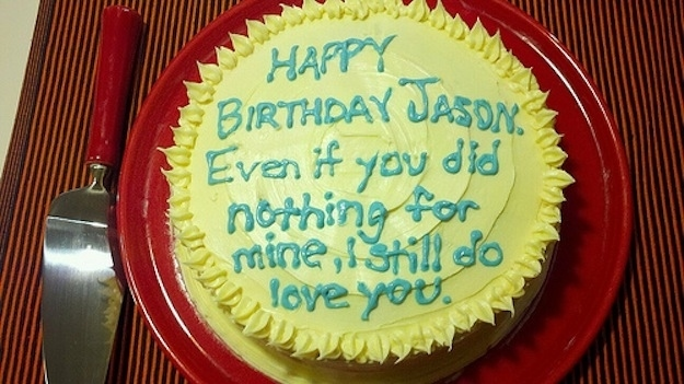 Cool If You Could Write Anything On A Cake What Would It Be Funny Birthday Cards Online Aeocydamsfinfo