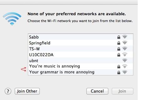 best wifi names list