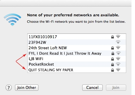 best wifi names of all time