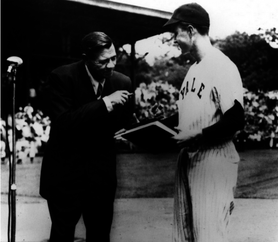 Your Babe Ruth Meeting George Hw Bush Pic Of The Day 183 The42
