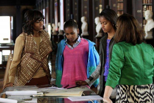 Trinity james and michele obama | Adult pics)