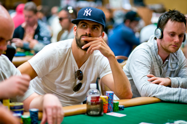 Gerard Pique is playing in the World Series of Poker Main Event ...